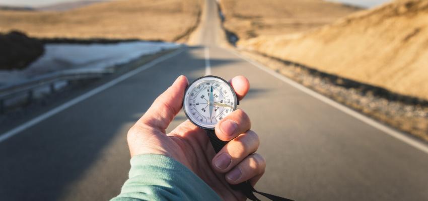 izguba kompasa